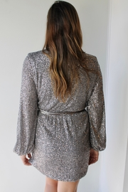 BLANC Champagne Dreams Dress - Front full body