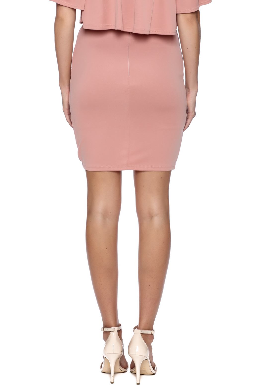 BLANC Blush Mini Skirt from Manhattan by Dor L'Dor — Shoptiques