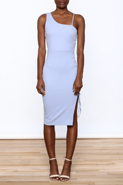 BLANC Classy Bodycon Sleeveless Dress - Front cropped