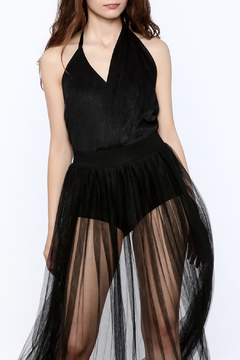 Shoptiques Product: Sexy Pleated Bodysuit