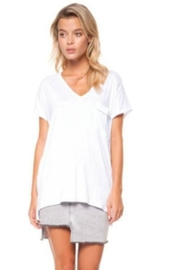 Dex Blanc V-Neck Tee - Product Mini Image