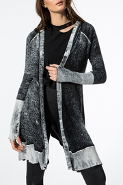 Blanc Noir Huntress Cardigan Sweater - Front cropped