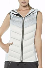 Blanc Noir Packable Moto Vest - Product Mini Image
