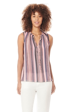 Ecru Blanchett Striped Tank Top - Product List Image