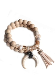 blandice Wood Beads Bracelet - Product Mini Image