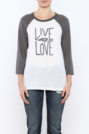 Blank Bella + Canvas Live Love NC Tee - Side cropped