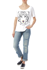 Blank Bella + Canvas Tiger Love Tee - Front full body