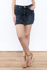 Blank Denim Miniskirt - Product Mini Image