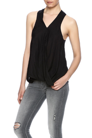 Blank NYC Cross Front Racerback Top - Product Mini Image