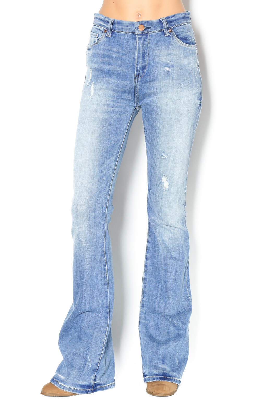 Blank NYC Kale Yeah Flare Jeans from Statesboro by Sole — Shoptiques