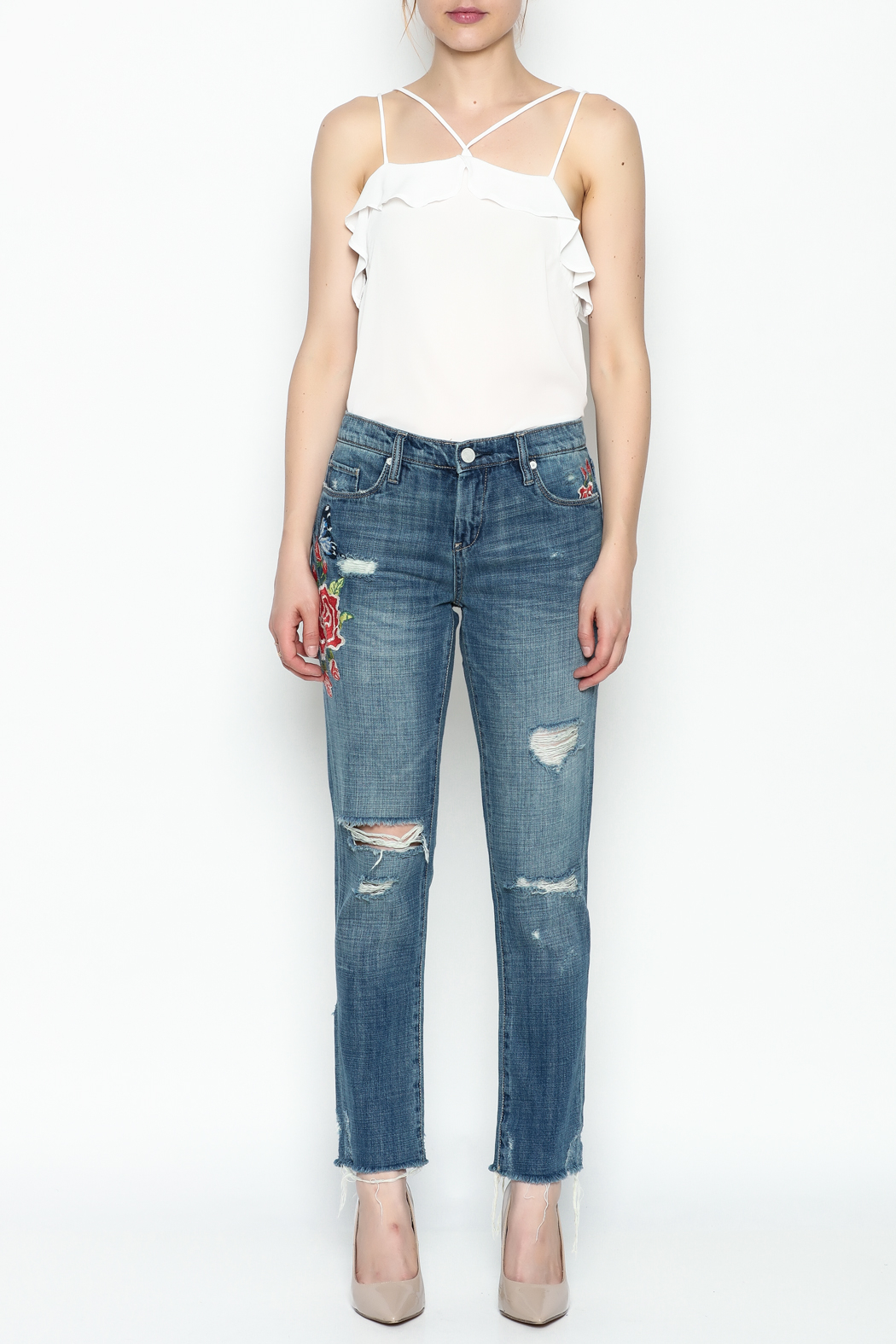Blank NYC Wild Child Jeans - Front Full Image