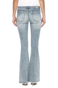 Shoptiques Product: Ripped Bell Bottom Jean