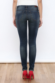 Blank Ripped Skinny Jeans - Back cropped