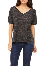 Blank Bella + Canvas Black Marble Tee - Front cropped