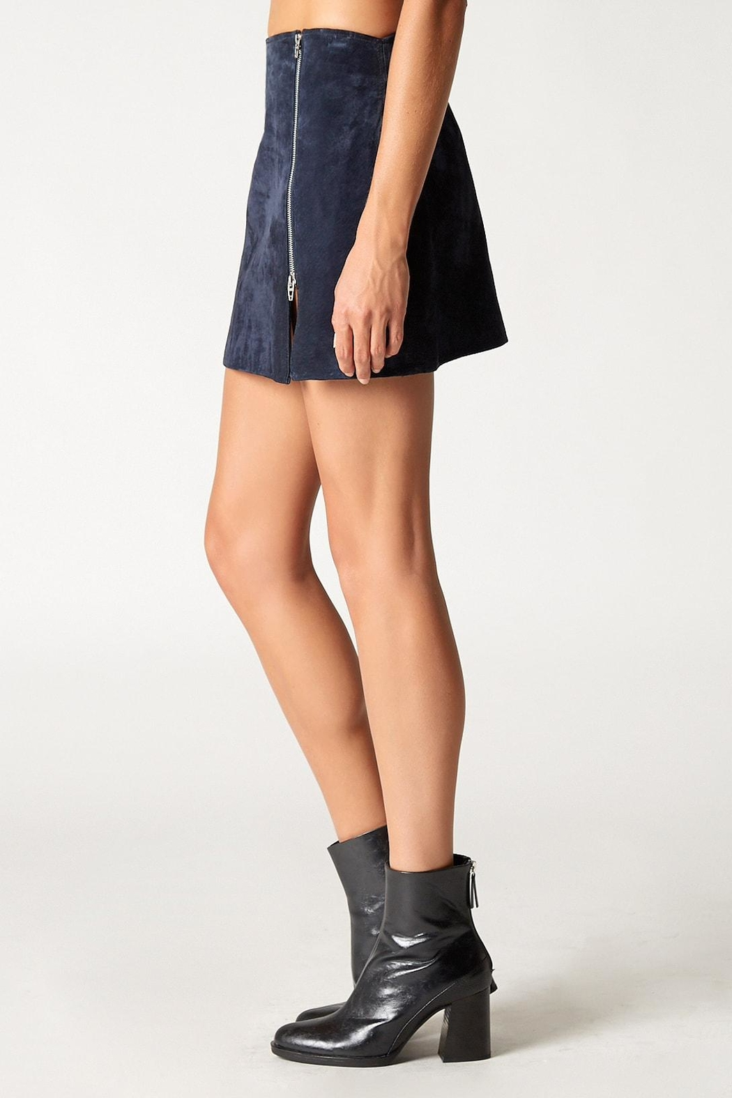 Blank NYC Blue Valentine Skirt - Front Full Image