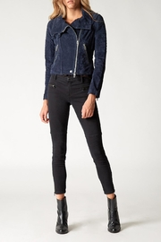 Blank NYC Blue Valentine Suede Jacket - Product Mini Image
