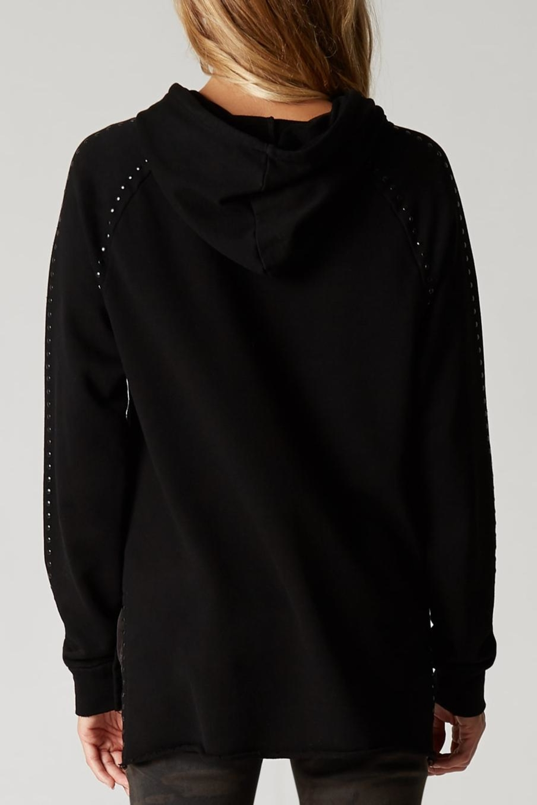 Blank NYC Dark And Stormy Hoodie - Front Full Image