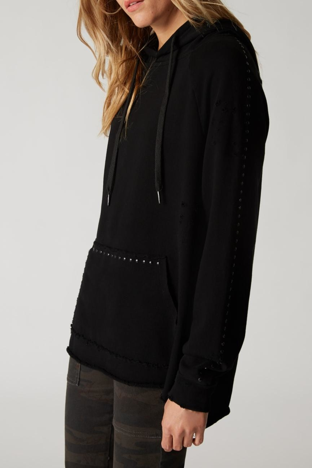 Blank NYC Dark And Stormy Hoodie - Side Cropped Image