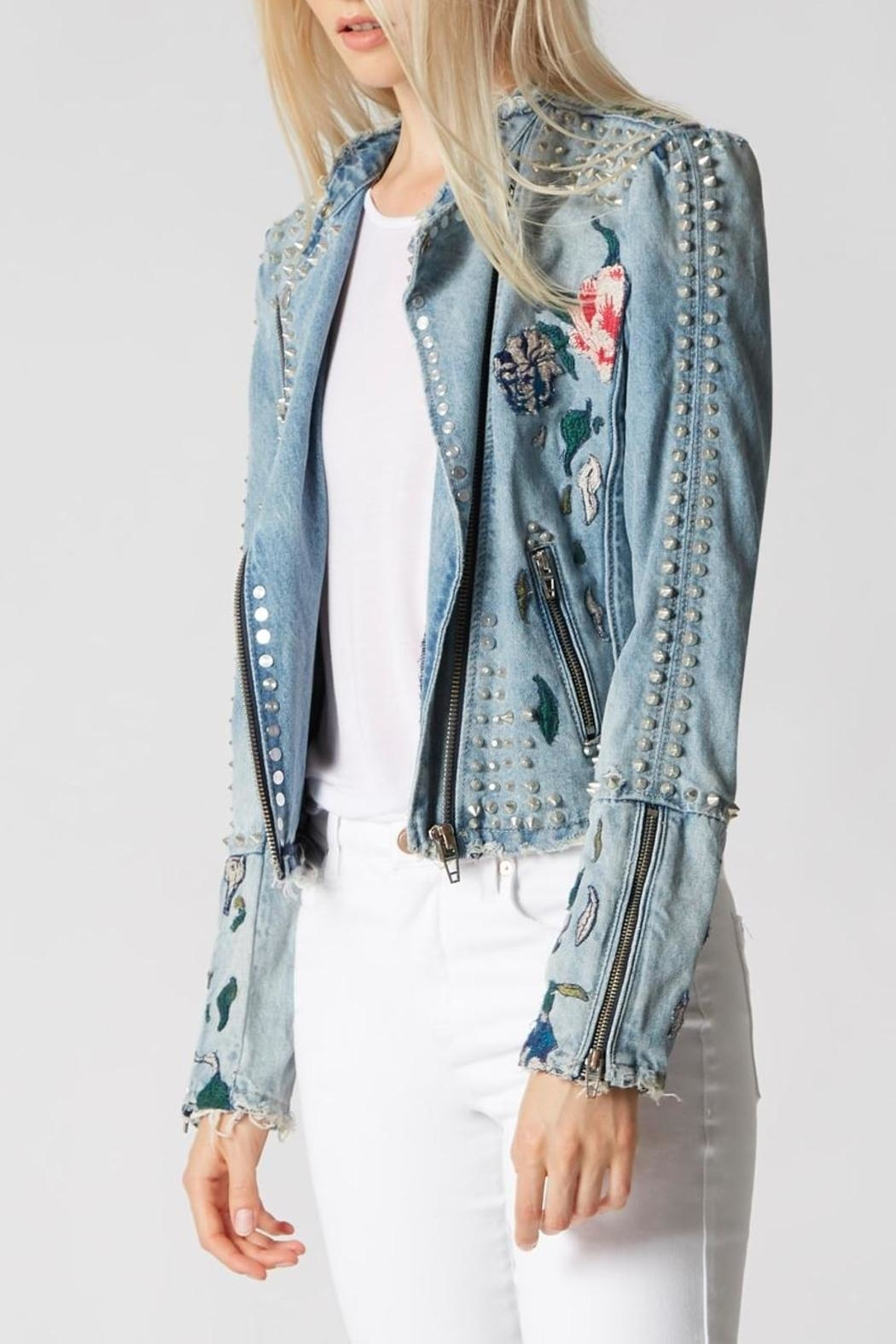 Blank NYC Denim Embroidered Jacket from Nashville by Native + Nomad ...