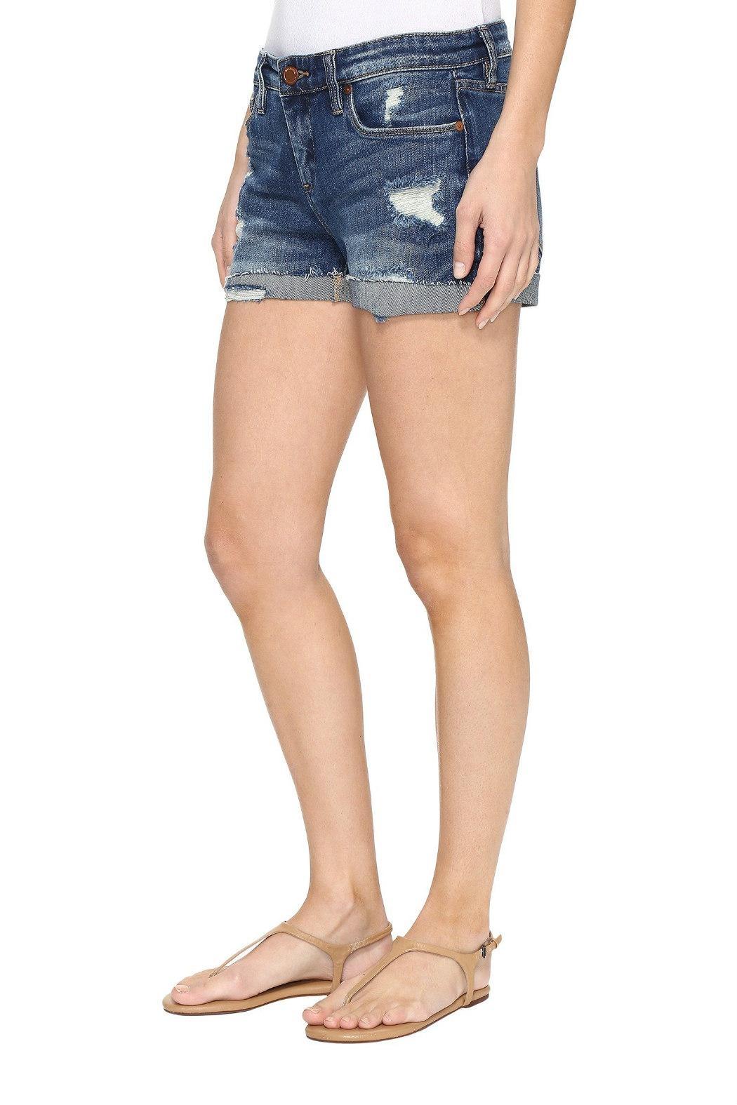 Blank NYC Distressed Denim Short - Front Full Image