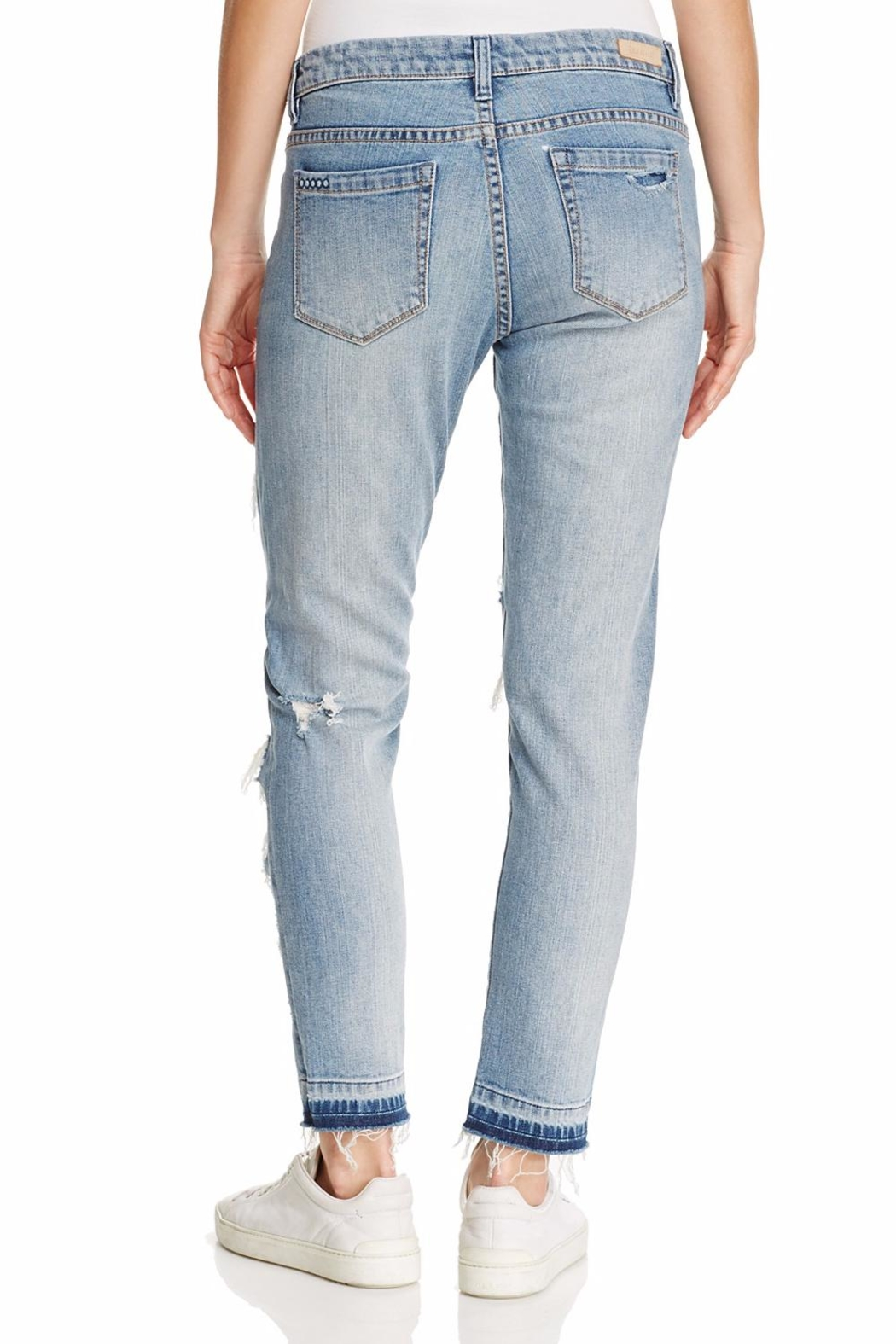 Blank NYC Distressed Jeans - Side Cropped Image