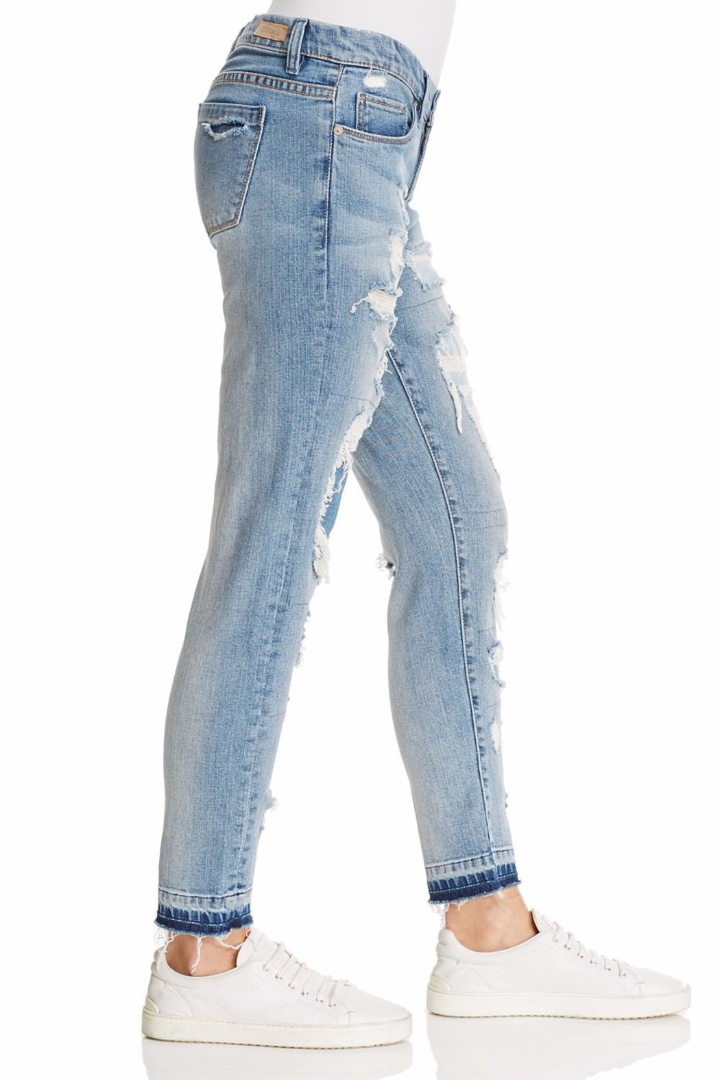 Blank NYC Distressed Jeans - Front Full Image