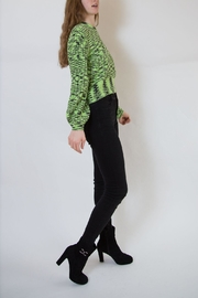 Blank NYC Green Sweater - Front full body