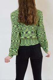Blank NYC Green Sweater - Side cropped