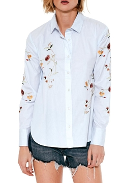 Blank NYC In Bloom Button Up Top - Product List Image