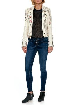Shoptiques Product: Lace Up Skinny