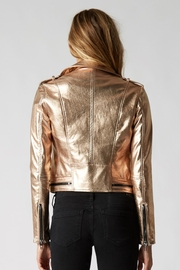Blank NYC Metallic Moto Jacket - Side cropped