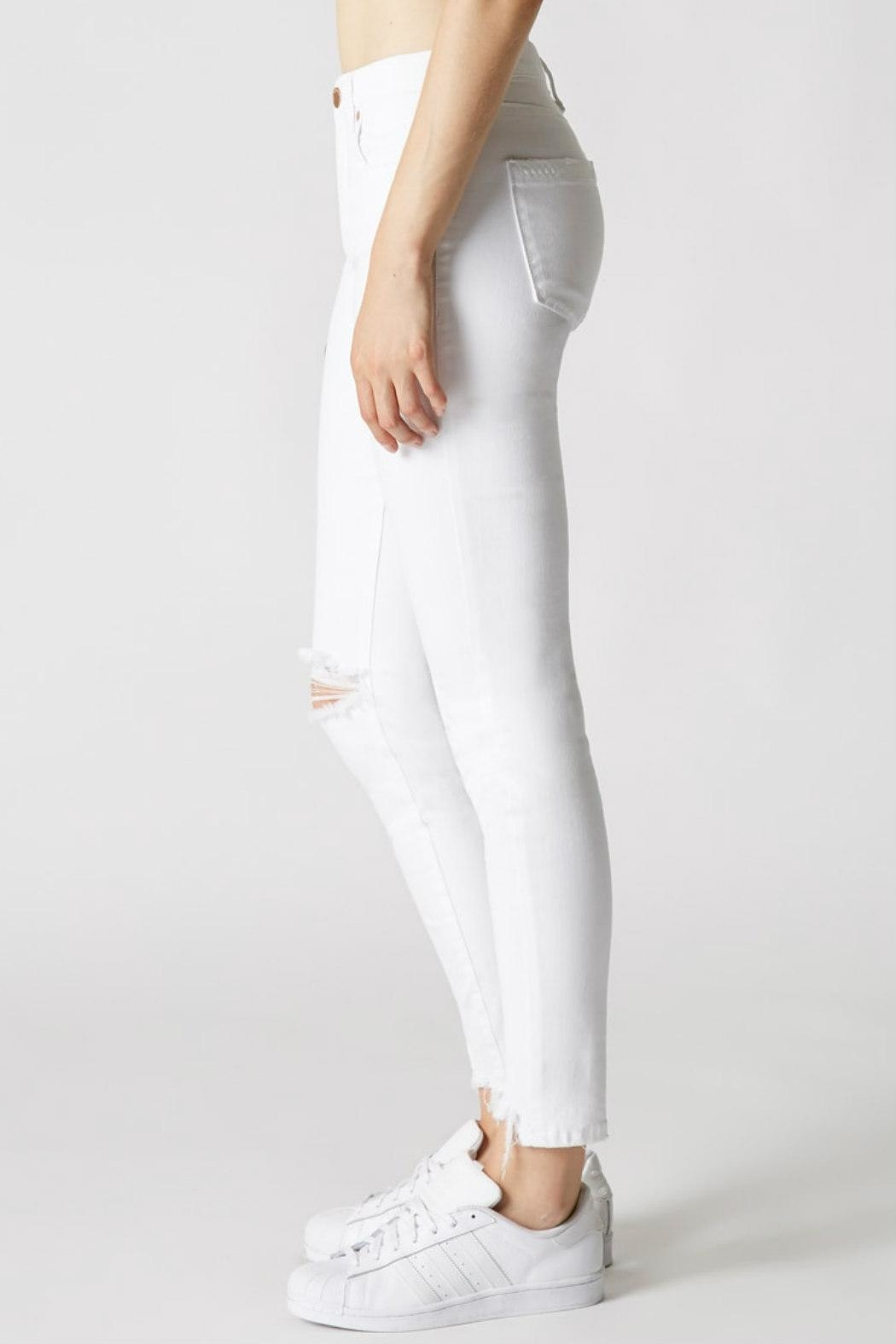 Blank NYC Mid-Rise Skinny Jean - Side Cropped Image