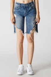 Blank NYC Poster Child Shorts - Front full body