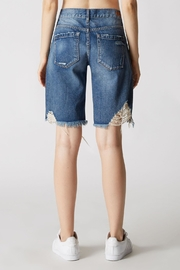 Blank NYC Poster Child Shorts - Back cropped