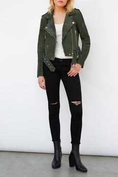 Blank NYC Real Suede Moto - Alternate List Image