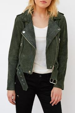 Blank NYC Real Suede Moto - Product List Image