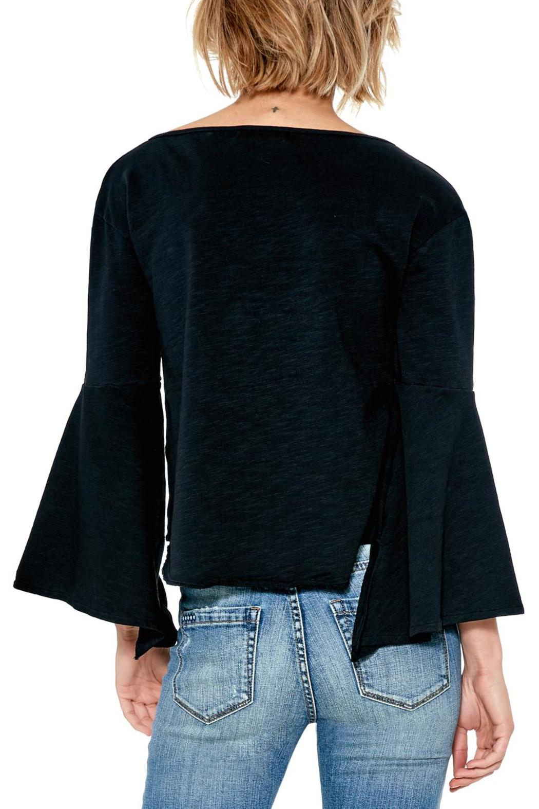 Blank NYC Shadow Bell Sleeve Top - Front Full Image