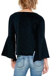 Blank NYC Shadow Bell Sleeve Top - Front full body