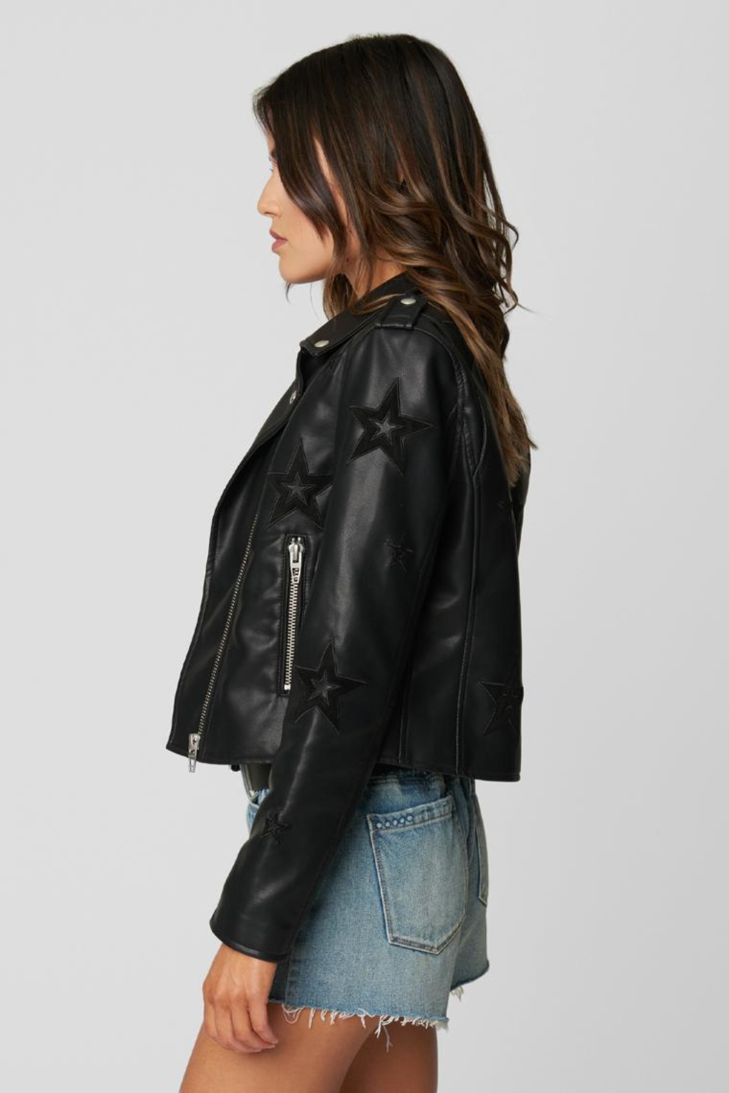 Blank NYC Shooting Star Jacket - Front Full Image