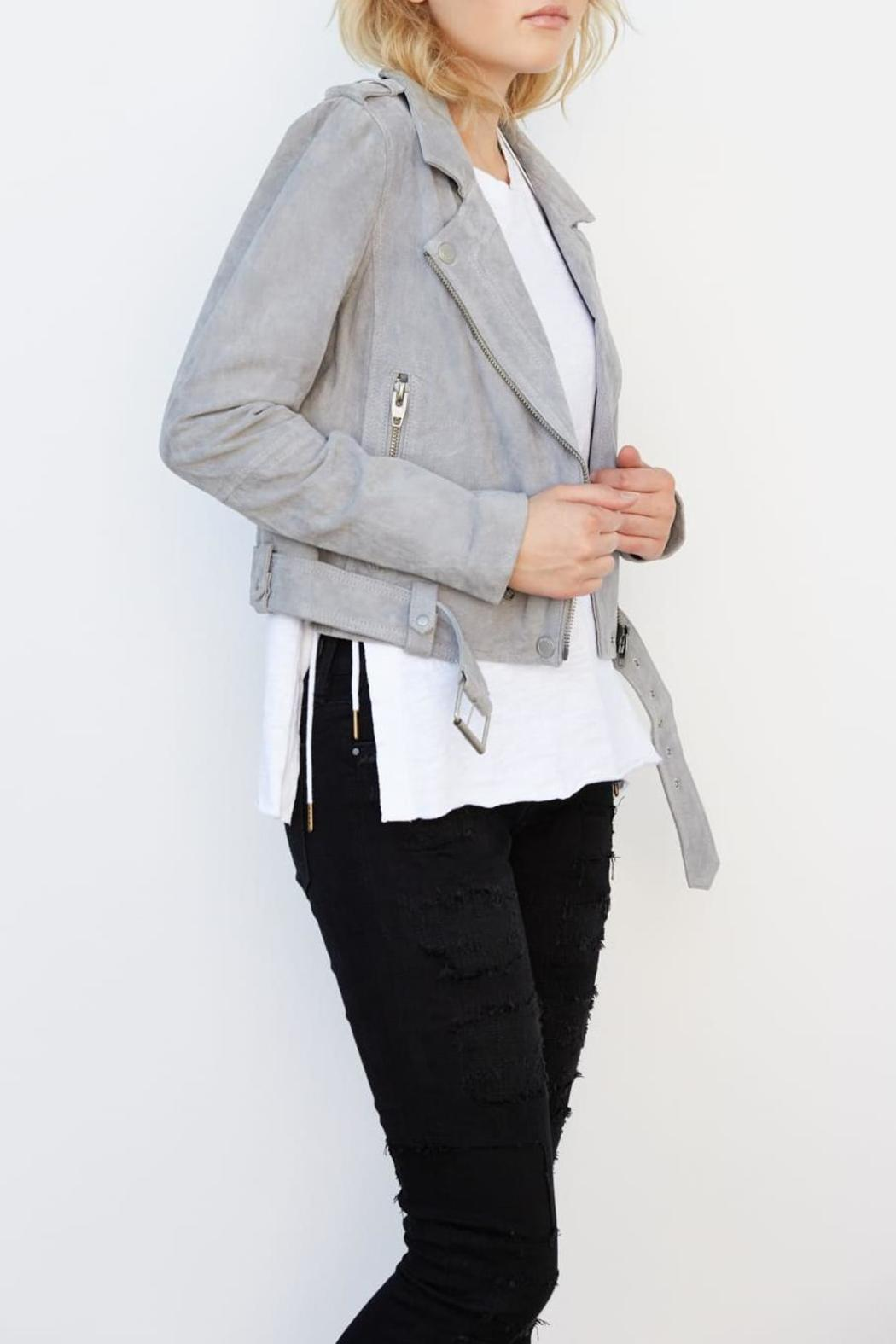 Blank NYC Suede Belted Moto - Main Image