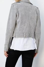 Blank NYC Suede Belted Moto - Front full body