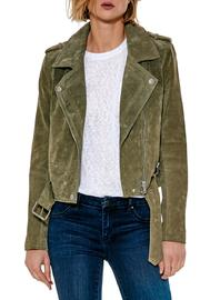 Blank NYC Suede Moto Jacket - Product Mini Image