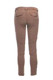 Blank NYC Taupes Off Cargo Jeans - Front full body