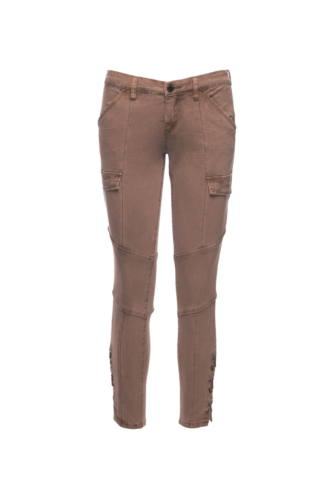 Blank NYC Taupes Off Cargo Jeans - Main Image