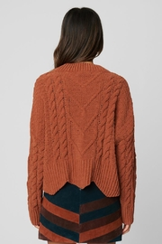 Blank NYC Terra Cotta Sweater - Back cropped