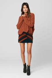 Blank NYC Terra Cotta Sweater - Product Mini Image