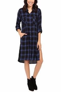 Blank NYC Tomboy Blues Dress - Product List Image