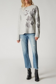 Blank NYC Vapor Embroidered Sweater - Product Mini Image