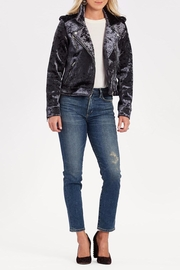 Blank NYC Velvet Moto Jacket - Product Mini Image