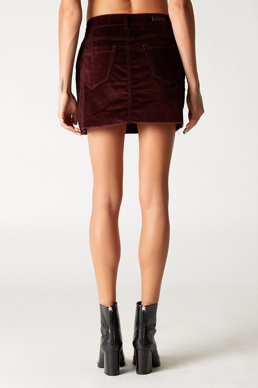 Blank NYC Wine Buzz Skirt - Side Cropped Image